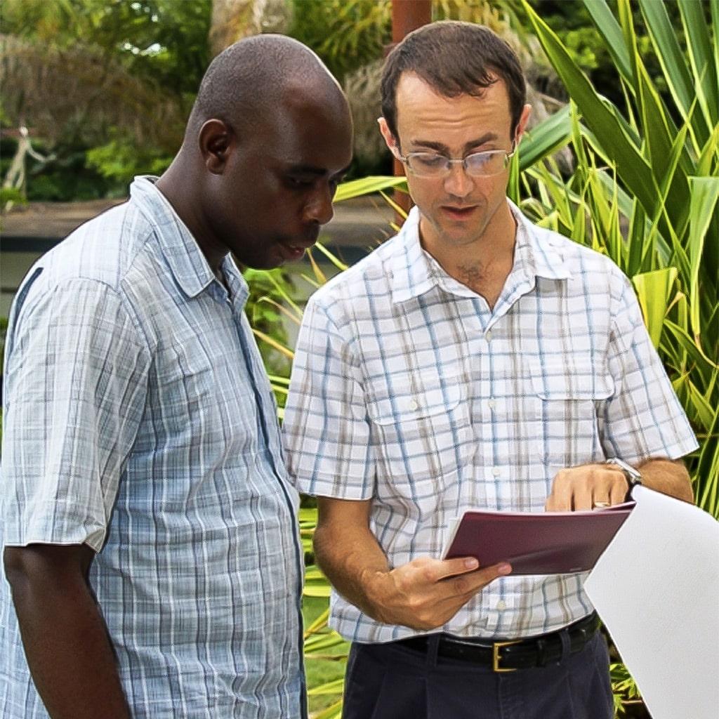 Sean - WT-Haiti Team Leader and resident missionary in Haiti since 2009