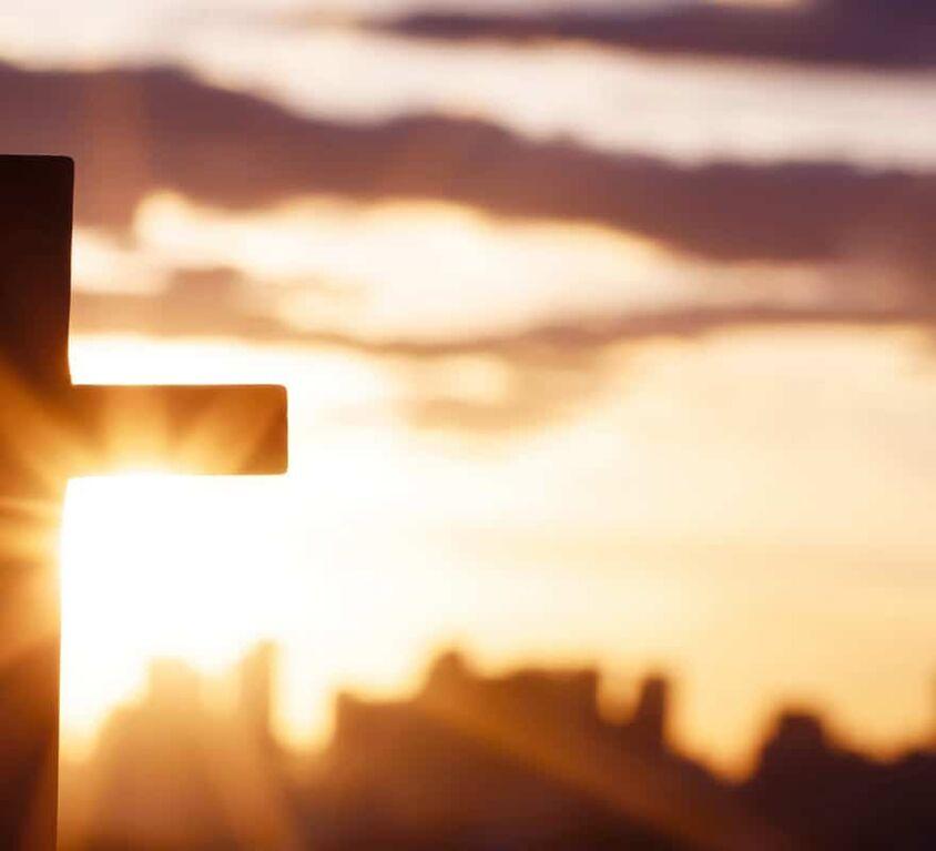A cross for wishing God.
