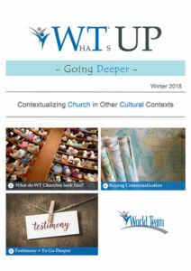 Cover: Going Deeper - Winter 2018